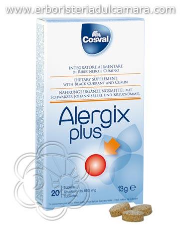 Aggiungi Alergix Contro le Allergie (30 Capsule) Cosval - Allergie, Antinfiammatori, Cortisonsimili, Pelle, Vie Respiratorie, Rinite, Lacrimazione, Prurito al carrello