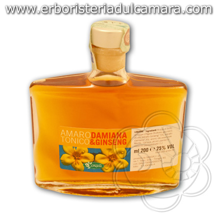 Aggiungi amaro tonico damiana e ginseng 200 ml sangalli for Un liquore tonico
