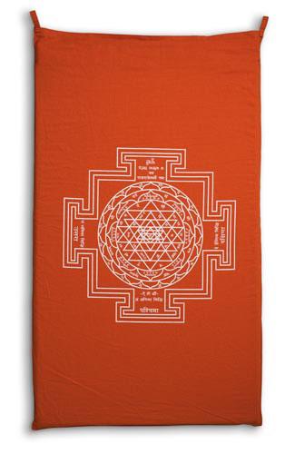 Il tappetino svedese chiodato Shakti Mat Original: Versione Arancione